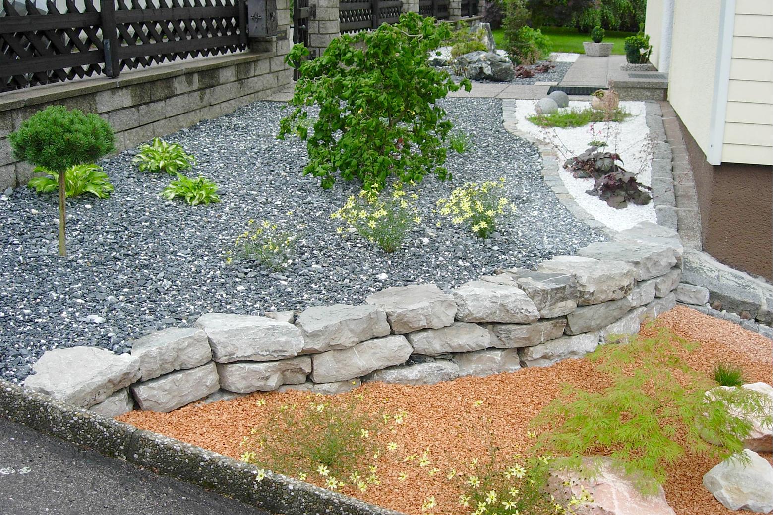 Prächtig Kiesbeete, Kiesel, Steine im Garten, Kieswege, Gartenwege, Gehwege #JC_46